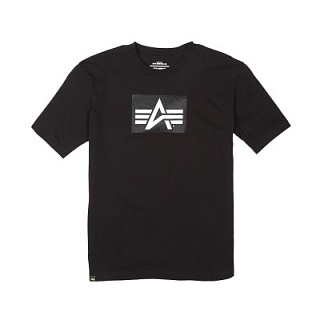 Alpha Industries Футболка Logo Block Tee