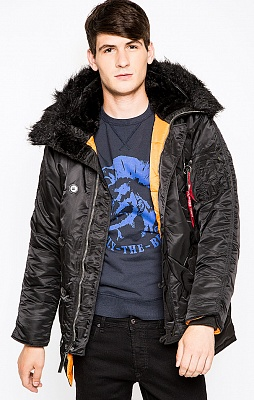 Alpha Industries Куртка Alpha Industries Slim Fit N3b Parka