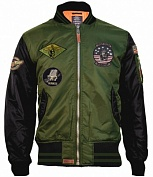 Top Gun Куртка Top Gun Color Block Bomber Jacket, MA-1