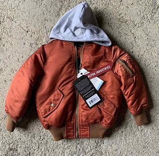Alpha Industries Детский бомбер Alpha Industries Youth Natus MA-1