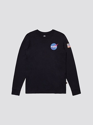 футболка Alpha Industries SPACE SHUTTLE LONG SLEEVE TEE