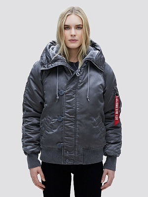 Alpha Industries Женская куртка Alpha Industries N-2b battlewash W