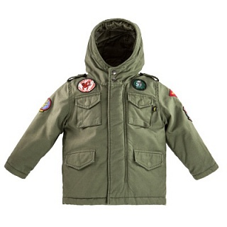 Alpha Industries Куртка демисезонная Alpha Industries M-65 Noah Field Coat