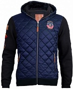Top Gun Реглан Top Gun Quilted Fleece Hoodie with Patches