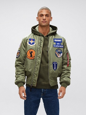 Alpha Industries Бомбер MA-1 Squadron