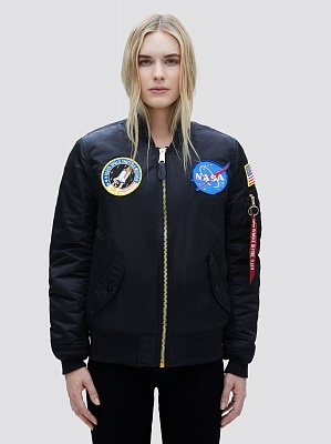 Alpha Industries Куртка (бомбер) Alpha Industries MA-1 NASA Flight Jacket W