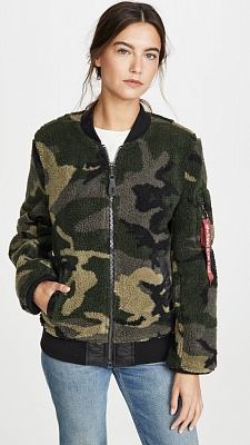 Бомбер Alpha Industries L-2b Sherpa W - Фото 1