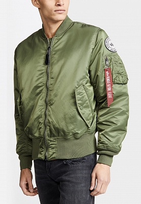Бомбер Alpha Industries MA-1 Coalition Forces - Фото 1