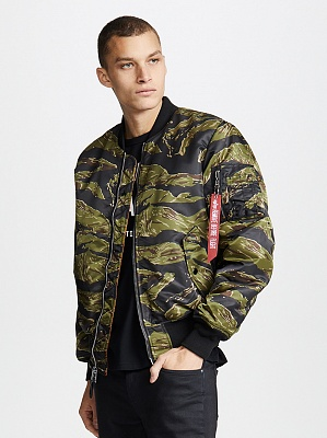 Alpha Industries Куртка Alpha Industries MA-1 Coalition Blood Chit