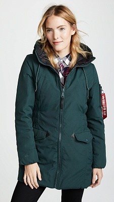 Alpha Industries Пуховик Alpha Industries N-3B Down Parka W