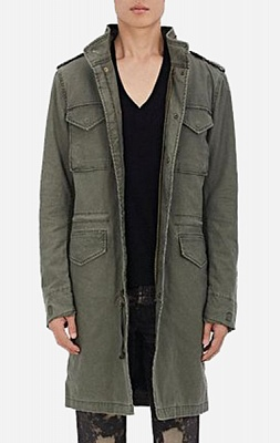 Alpha Industries Куртка Alpha Industries Quartermaster Field Coat Long
