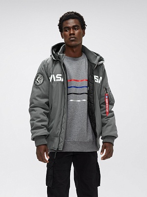 Alpha Industries Бомбер MA-1 Hooded NASA II