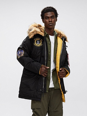 Alpha Industries Куртка N-3B Fear The Bones Parka