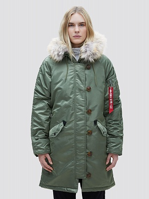 Женская куртка Alpha Industries Elyse Parka - Фото 1