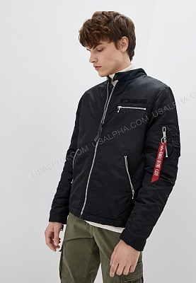 Куртка Alpha Industries Machina Biker Jacket - Фото 1