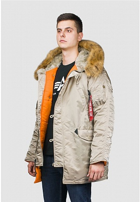 Alpha Industries Куртка Alpha Industries N-3b Slim Fit Parka