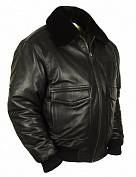 Airborne Apparel Кожаная лётная куртка Airborne Apparel Type A-2 Black