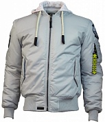 Top Gun Куртка Top Gun MA-1 Nylon Bomber jacket with hoodie