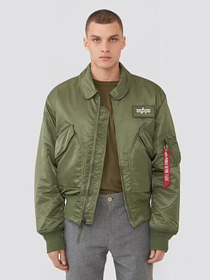 Куртка Alpha Industries CWU 45/P - Фото 1